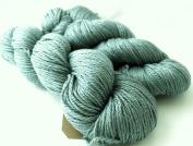 Fyberspates Scrumptious Silk/Merino Wool Aran Water (Steel Blue) Yarn