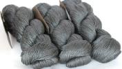 Fyberspates Scrumptious Silk/Merino Wool Aran Slate Yarn