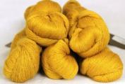 Fyberspates Scrumptious Silk/Merino Lace Yarn #502 Gold
