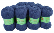 Alpaca Blended Knitting Yarn Fingering 10 Skeins