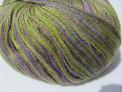 Juniper Moon Findley Dappled Lace Weight Yarn Colour 113 Spring Pasture, Luxury Yarn 1sk