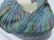 Juniper Moon Findley Dappled Lace Weight Yarn Colour 114 Macaw Luxury Yarn 1sk