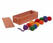Froebel Gift 1 Yarn Balls