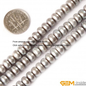 Gem-Inside 7-8mm Black/Silver/Purple/Pink/White Colour Natural Cultured Pearl Beads Strand 15 Inches