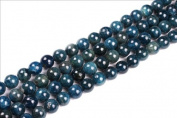 "4mm 6mm 8mm 10mm 12mm round blue kyanite gemstone beads strand 15"",Jewellery Making beads"