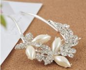 Bridal headdress Pearl Diamond Hair accessories FZ12005