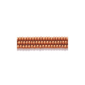 Preciosa Ornela Czech Seed Bead, Silk Dark Copper, Size 11/0