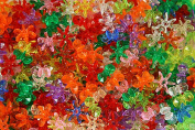 The Beadery 12mm Sunburst Beads, Multi, 900-Piece Per Bag