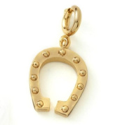 Growing up Girls Age 10 Horseshoe Birthday Charm