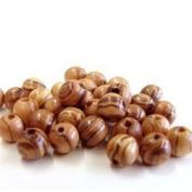 Rosary Beads 60 Round Beads 6mm - Betlehem Olive wood