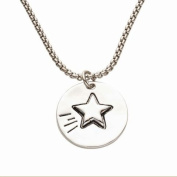 Alexa's Angels Star Reversible Share Random Acts of Kindness Necklace