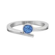 Annaleece September Birthstone Ring Size 5. Elements DeVries Hypoallergenic Nickel-Free ESS25SA-05-ANNA