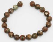 """Rhyolite 16"""" Strand of Twenty 18mm Round Beads"""