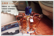 2014. New Fashion Car Air Freshener Brown Crown Clear Crystal Perfume Bottle Empty