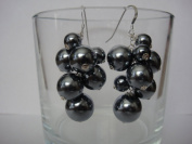 Glass Pearls Handmade Earrings