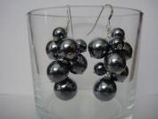 Glass Pearls Handmade Earrings