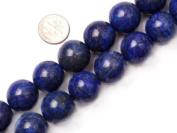 "18mm Round Lapis Lazuli Beads Strand 15"" Jewellery Making Beads"