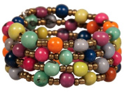 Fair Trade the Andean Collection Acai Wrap Bracelet - Classic Multi