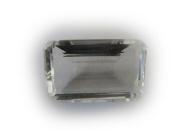 Rock Crystal Octgagon Quartz Facet Unset Gemstone Loose Genuine Natural 30mm