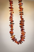 Wholesale 10 Cognac Colour Baltic Amber Teething Necklaces