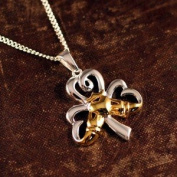 Shamrock Claddagh Necklace
