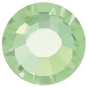 Mode Beads Preciosa Crystal Flatback Beads, Chrysolite Green, 10 Gross Package