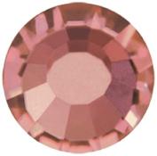 Mode Beads Preciosa Crystal Flatback Beads, Light Burgundy/Red, 10 Gross Package