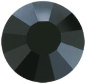 Mode Beads Preciosa Crystal Flatback Beads, Black, 10 Gross Package