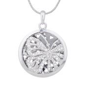 Annaleece Captured Beauty Necklace. Elements DeVries Hypoallergenic Nickel-Free 1246-ANNA