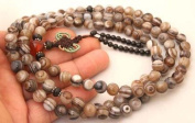 ~ Tibetan 108 Beads DZI AGATE Mala/Counter ~