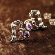 Thistle Heart Earrings