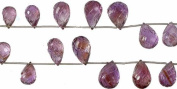 Amethyst Carved Drops -