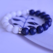 Geolin Jewellery Beyond - Royal Copenhagen Inspired Collection, Blue Fluted MEGA 01 Bracelet
