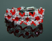 . Crystal Stones Beaded Bracelet