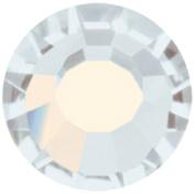 Mode Beads Preciosa Crystal Flatback Beads, White Opal, 10 Gross Package