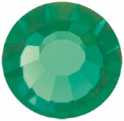 Mode Beads Preciosa Crystal Flatback Beads, Green Tourmaline, 10 Gross Package
