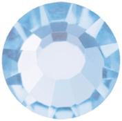 Mode Beads Preciosa Crystal Flatback Beads, Light Sapphire, 10 Gross Package