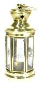 Brass Candle Lantern