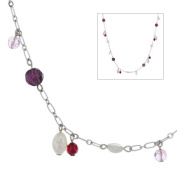 Annaleece Fresh Attire Necklace. Elements DeVries Hypoallergenic Nickel-Free 1269-ANNA