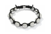 "BenZhi Collection Crystal-embedded Shamballa-inspired Bracelets, ""A Cup of Light"""