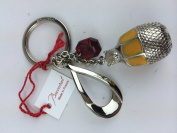Baccarat Animal Key Ring Charm BEAR TIN