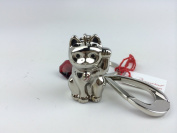 Baccarat Animal Key Ring Charm CAT TIN