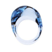 Baccarat Galet Aquamarine 51 Ring