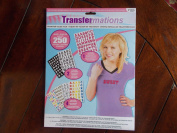 Transfermation Value Pack Iron On ~7 Sheets - Over 250 Letters~