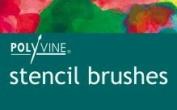 Polyvine Stencil Brush Size 10