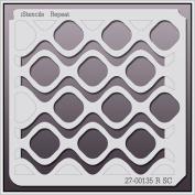 iStencils Repeat Wall Stencil 27-00135 R SC 20cm X 20cm
