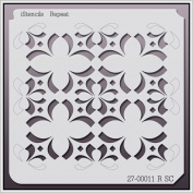 iStencils Repeat Wall Stencil 27-00011 R SC 28cm X 28cm