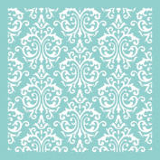 Kaisercraft T602 Scrapbooking Template, 30cm by 30cm , Damask