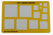 Artistic Design Template - Uniform Squares