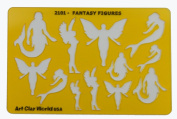 Artistic Design Template - Fantasy Figures